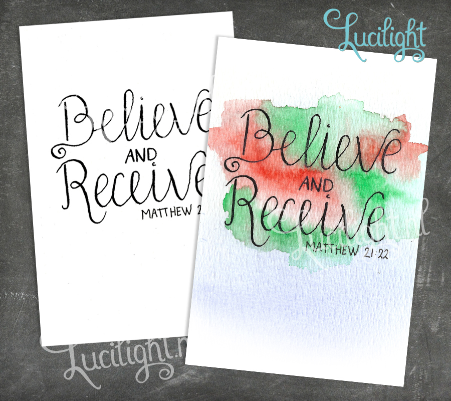 believe and receive by lucilight