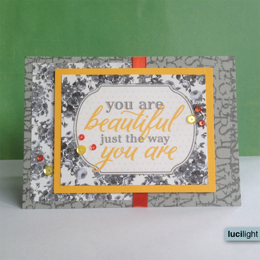 beautiful the way you are | Lucilight