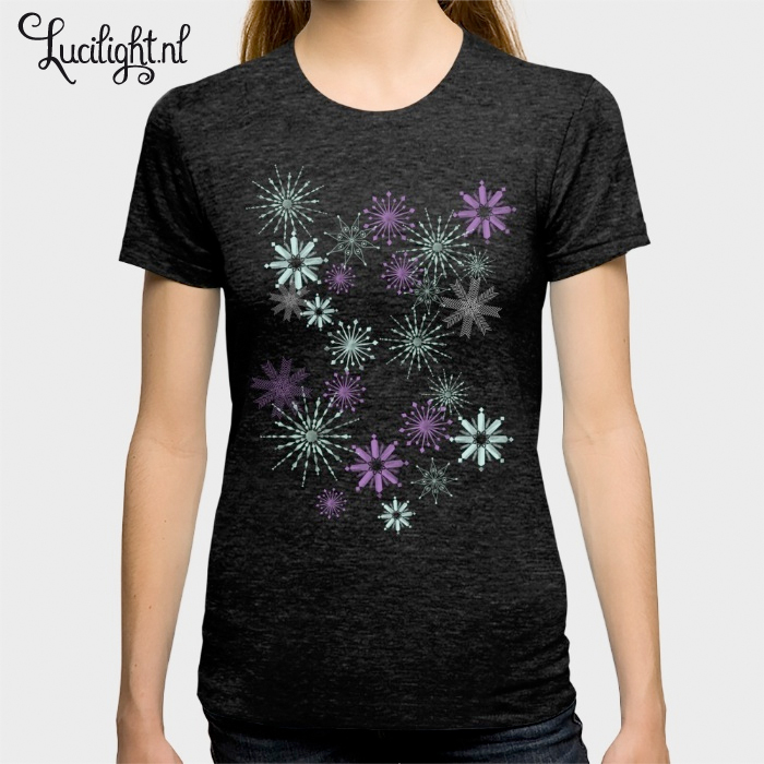 makewithme snowflakes shirt