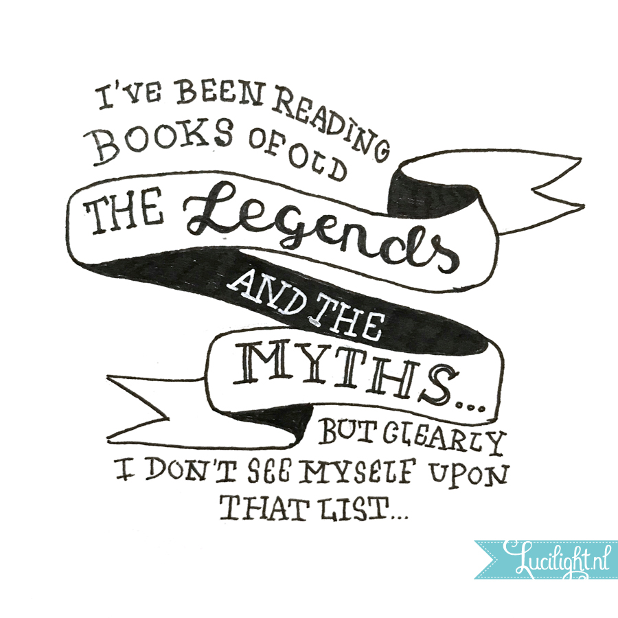 legends and myths lucilight