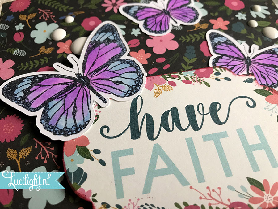 have faith butterfly lucilight close