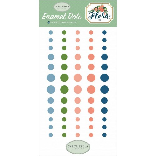 carta bella flora no2 enamel dots 500x500