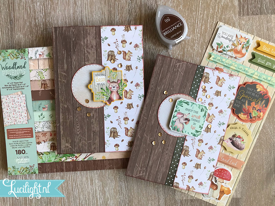 bear smallthings woodland friends combi