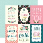 4x6 journaling cards Have Faith