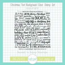 Christmas Text Background - SNSS