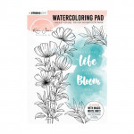 Karin Joan Blooming Watercoloring Pad