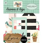 Carta Bella Flower Market Frames & Tags - CB