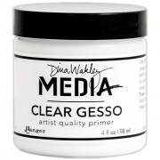 4 oz. Clear Gesso - Dina Wakley