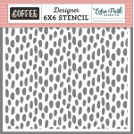 Coffee Dot Stencil - EP