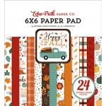Happy Fall 6x6 Inch Paper Pad EP