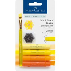 Faber Castell Gelatos Yellow