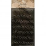 Metallic Quotations - Tim Holtz